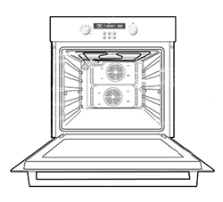 Ремонт плит для ресторана