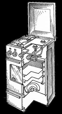 Газовая плита ремонт двери